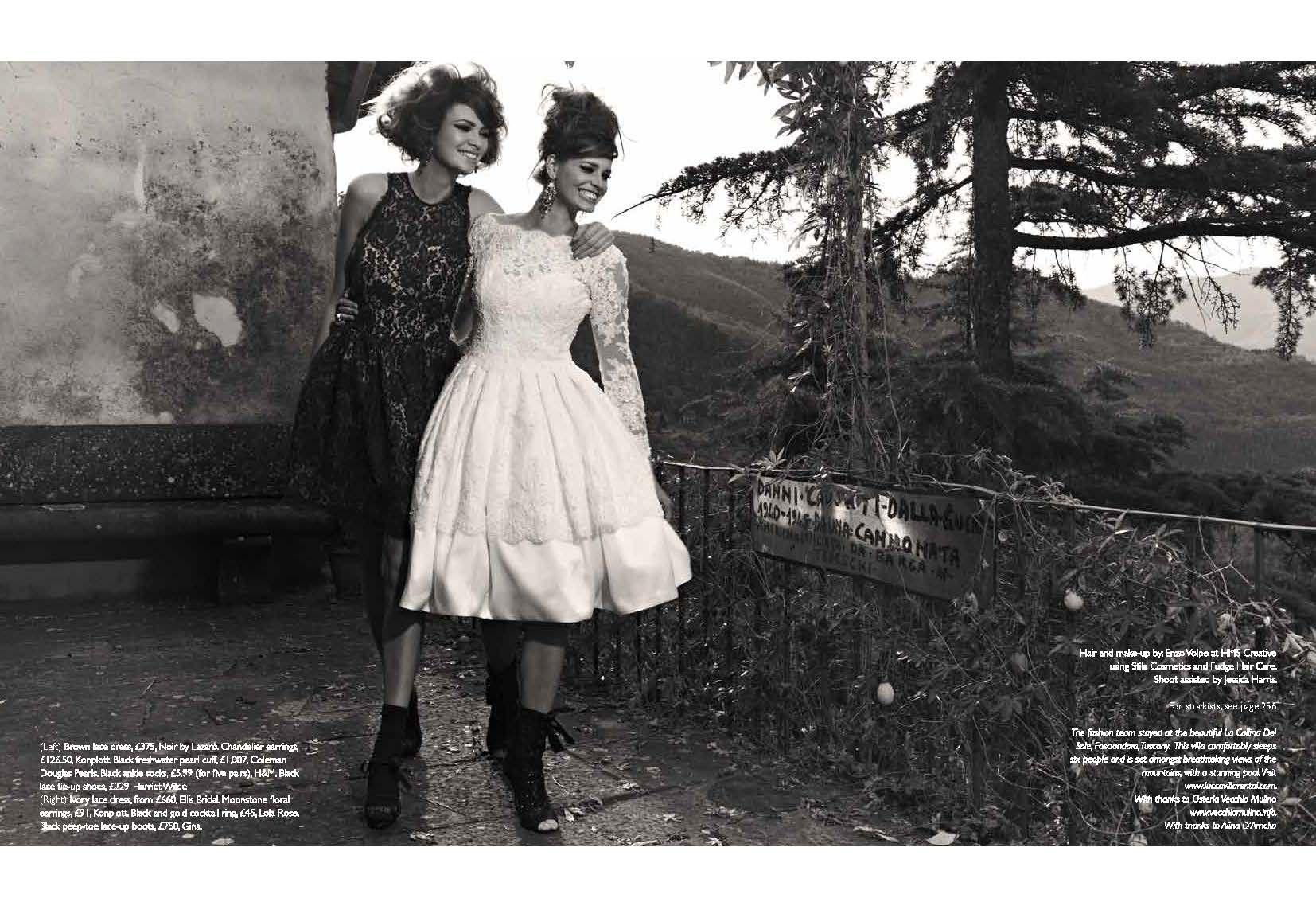 Ellis Style 11317 Featured In Wedding Magazine