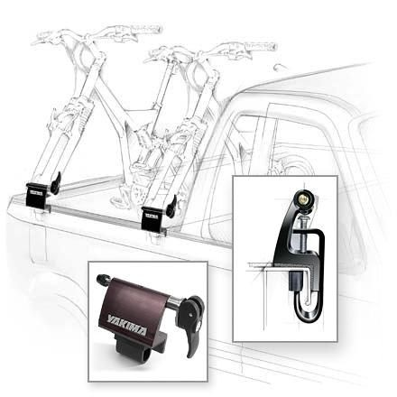 Yakima Locking Bedhead Truck Bed Bike Rack Clever