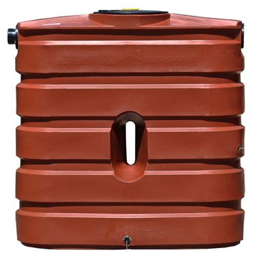 130 Gallon Slimline Rain Tank