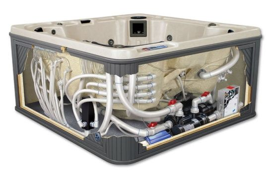 sundance spa plumbing diagram | , Jacuzzi Spa Part, Jacuzzi Heater ...