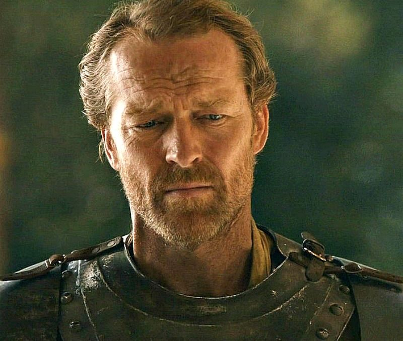 iain glen as sir jorah mormont