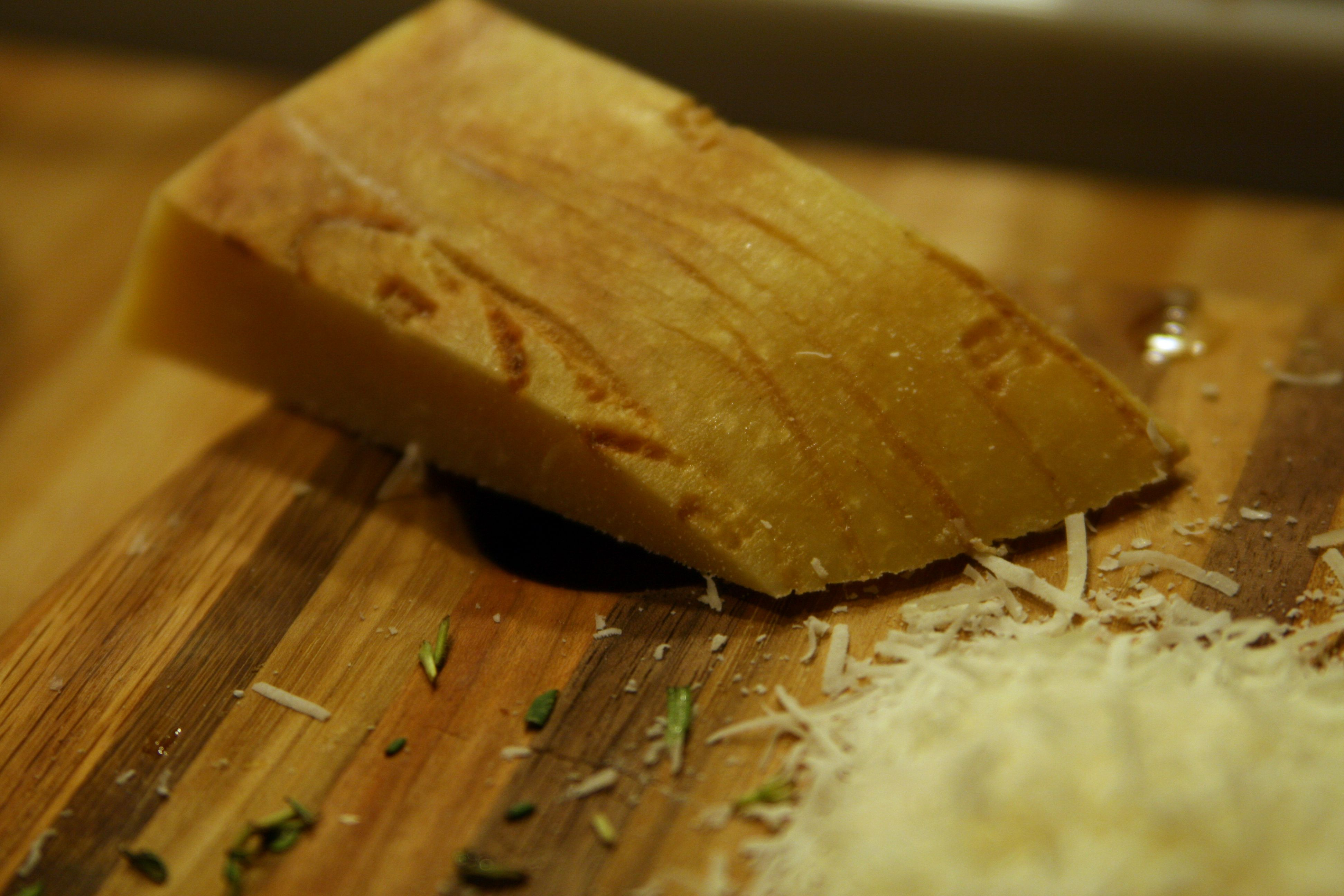 TIP OF THE DAY! ---- While the pasta is still hot after draining it, grate some fresh Parmesan cheese on top before tossing it with your sauce. This way, the sauce has something to stick to. #Pasta #Tip #Parmesan
