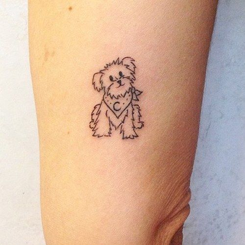 Próxima tatuagem: Belinha e Mike