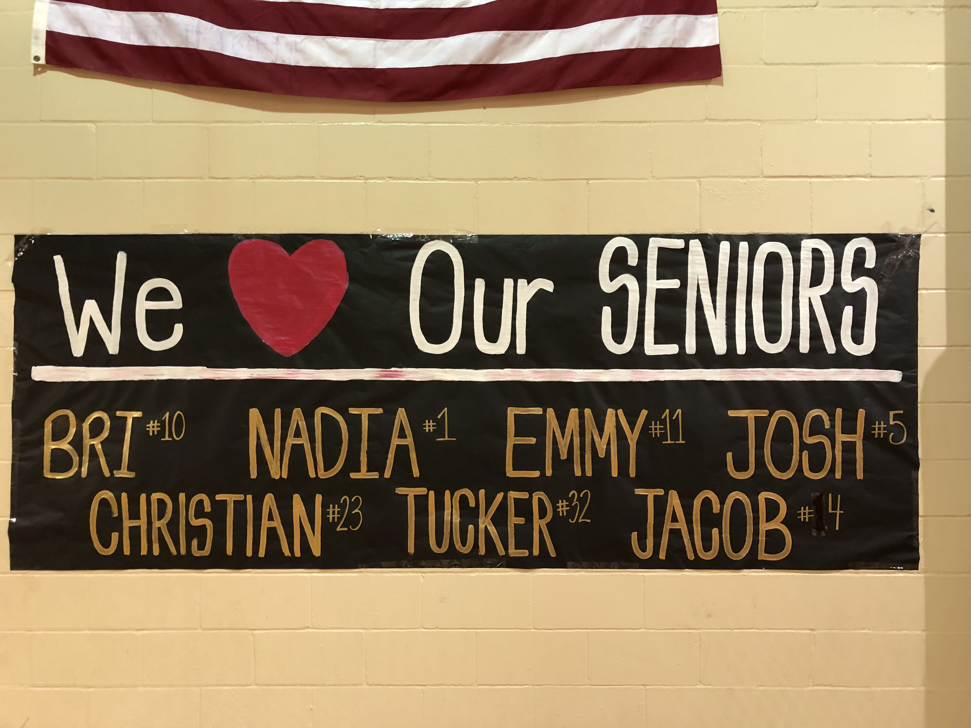 banner moments, banners by theRhondaEllis, Senior night ...
