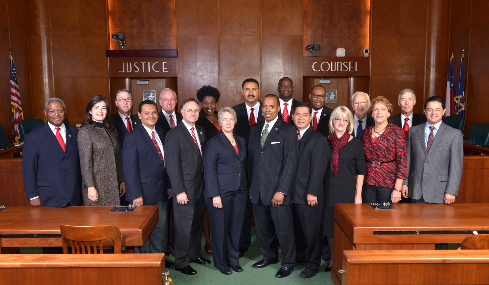 The Houston City Council Currently Has Fourteen Members Nine Elected From Council Districts And Five At Large The Members Of The Houston City City City Hall
