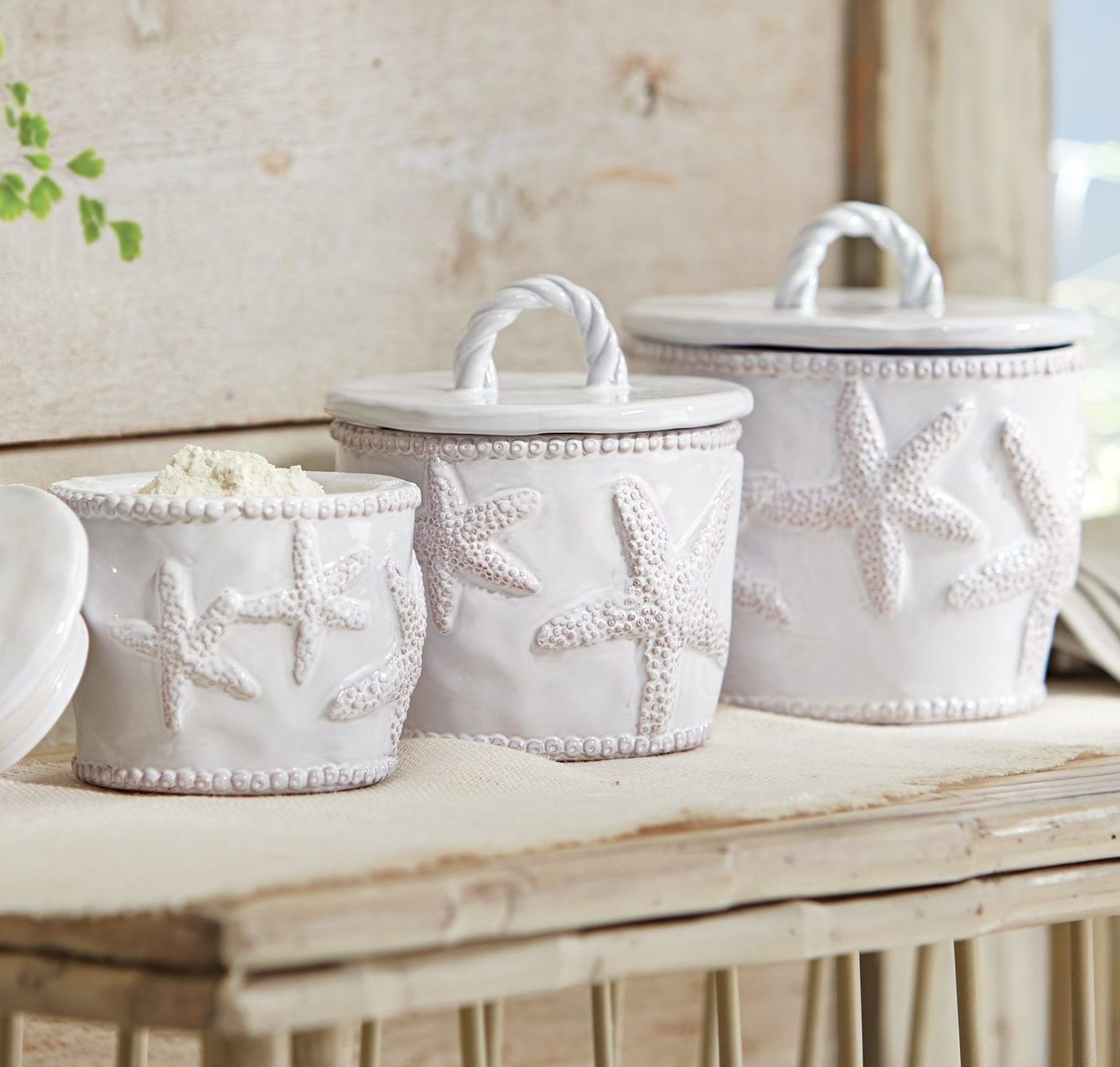 3 Piece Nautical Kitchen Canisters 50 Nautical Inspired Ideas For