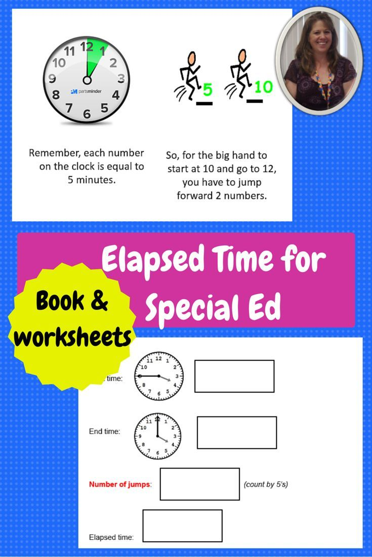 Elapsed Time booklet and practice worksheets | Pinterest ...