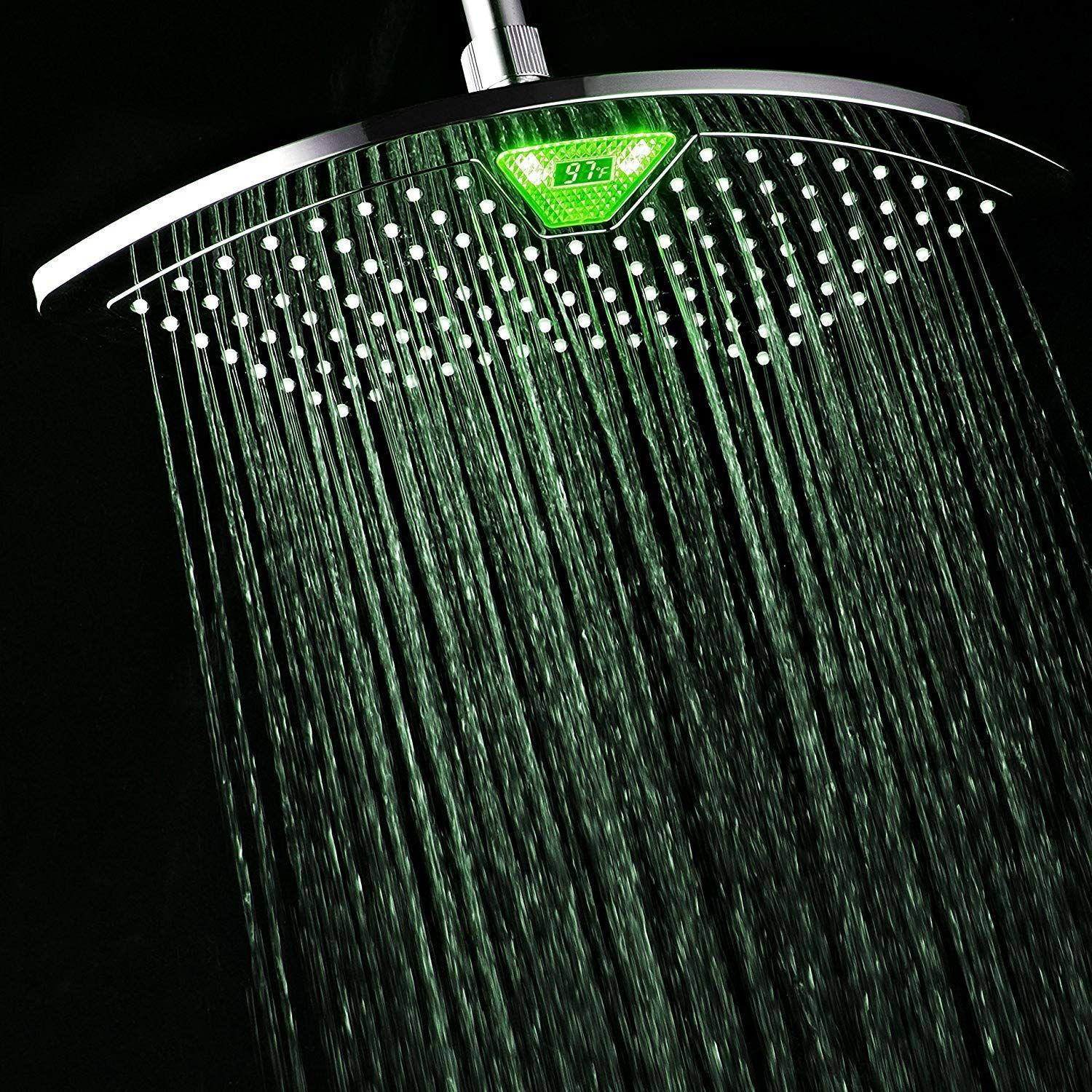 Best Led Shower Head Reviews In 2020 With Images Led Shower Head Shower Heads Rainfall Shower Head