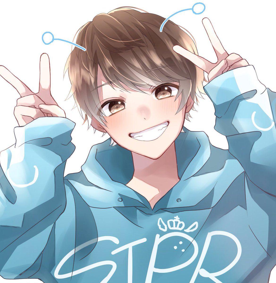 Anime boy wallpaper cute