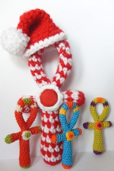 amilovesgurumi: free crochet ankh pattern in English and German ...