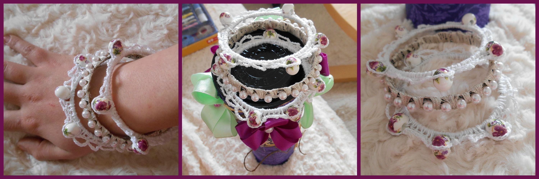 Romantic bracelets :)