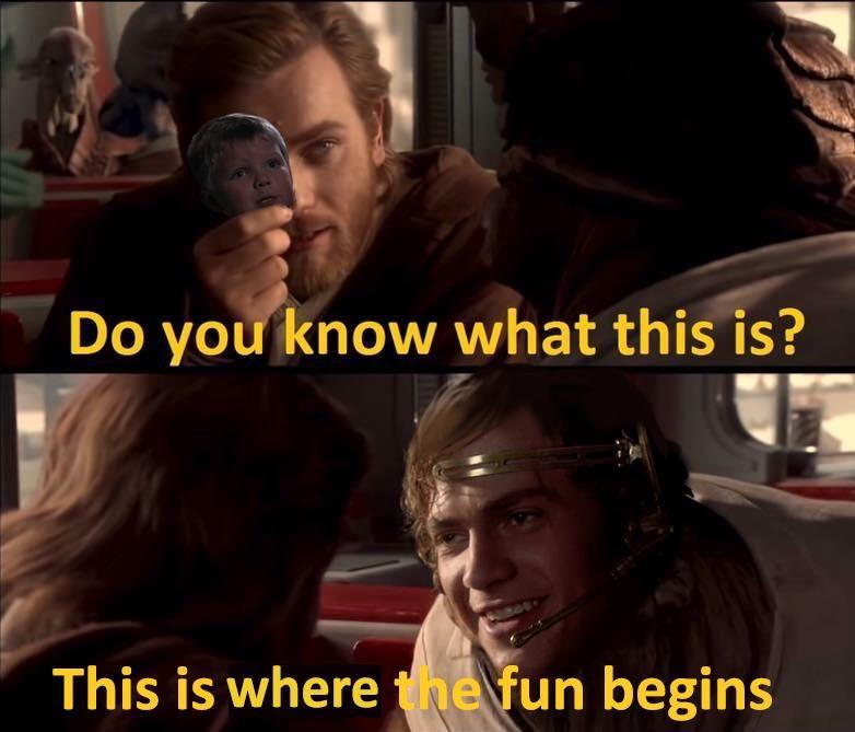 Heyy Whaddya Know Prequelmemes Star Wars Pictures Star Wars Fandom Funny Star Wars Memes