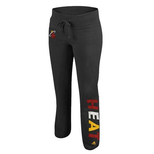 Adidas #Miami Heat Women's Team Upswing Fleece Pants - Black from $43.99