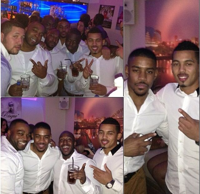 All White, Boys Night Out
