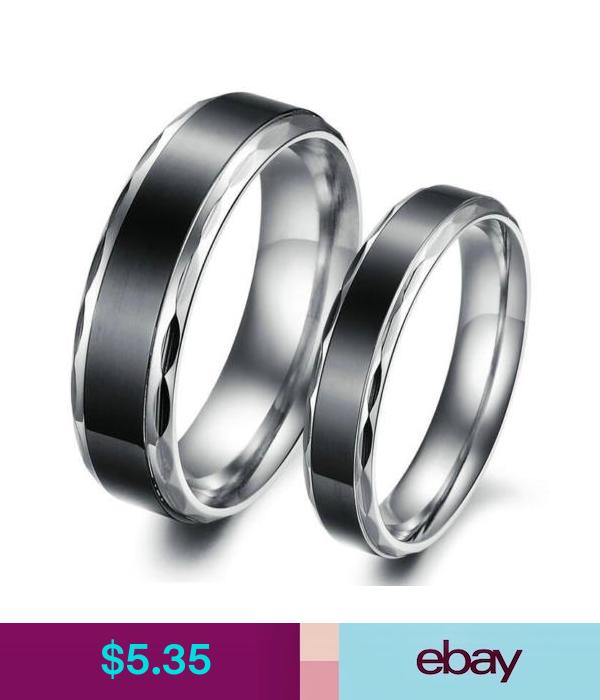 Rings Jewellery & Watches Titanium wedding rings