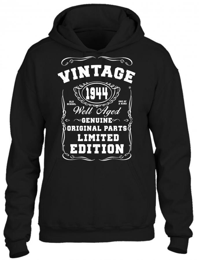 well aged original parts limited edition 1944 HOODIE