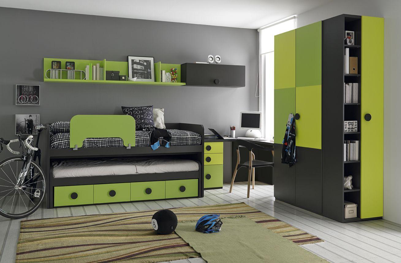 Muebles Orts BASE 3.0 Composición 35 | dormitorio infantil ...