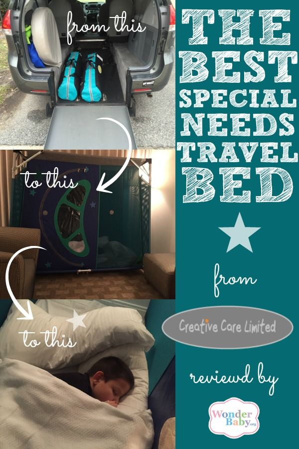 The perfect special needs travel bed cerebral palsy - Enclosed beds for adults ...
