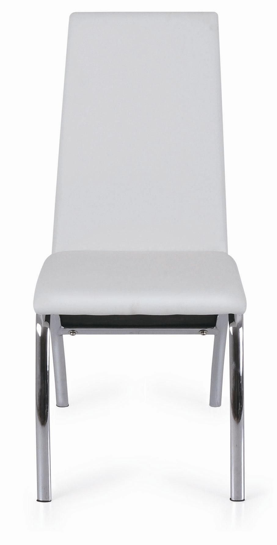 CA Fire Retardant Form, Chrome Legs And PU Covered Seat.