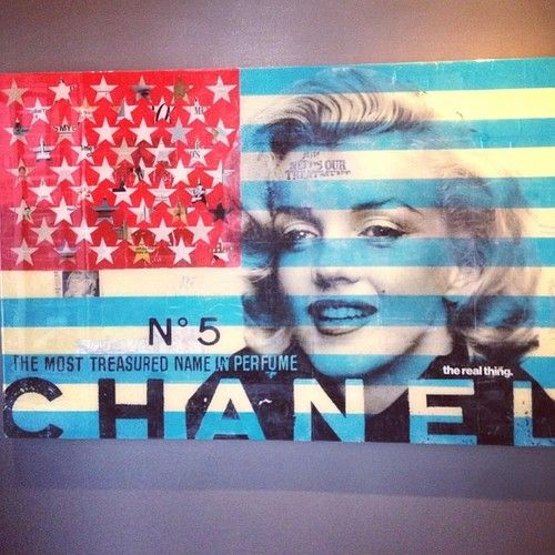 United States of A-Marilyn-ica. #art #photooftheday