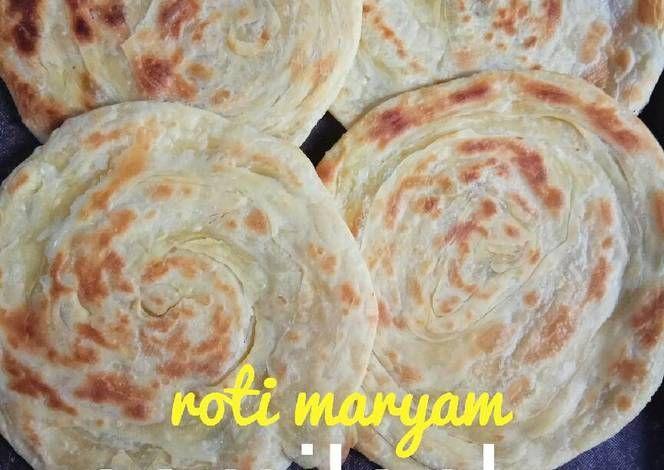 Resep Roti Maryam Renyah Empuk Oleh Ahada Gur Siji Resep Resep Roti Makanan Resep