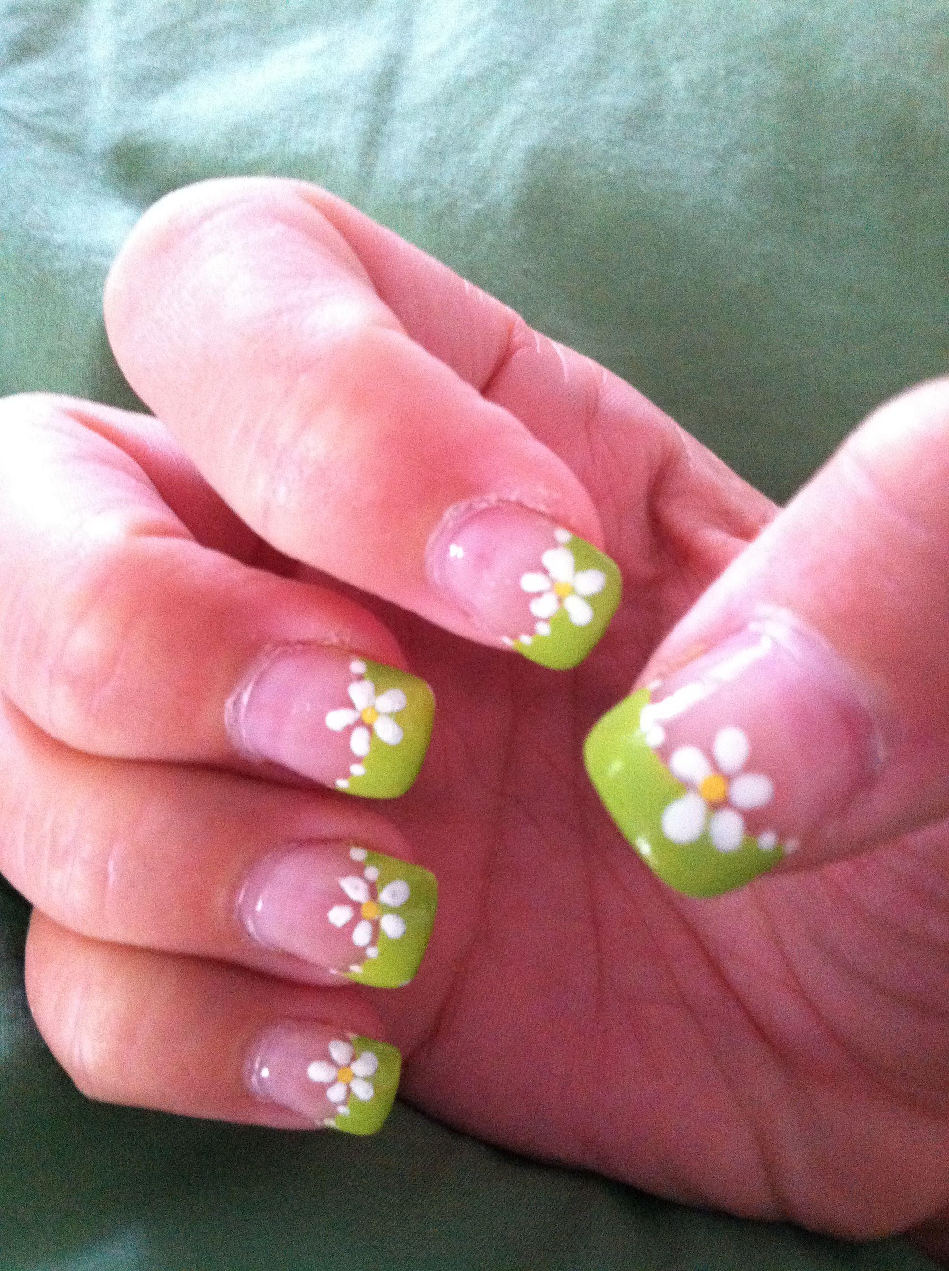 Spring Flower Nail Art Pinterest Spring Flowers