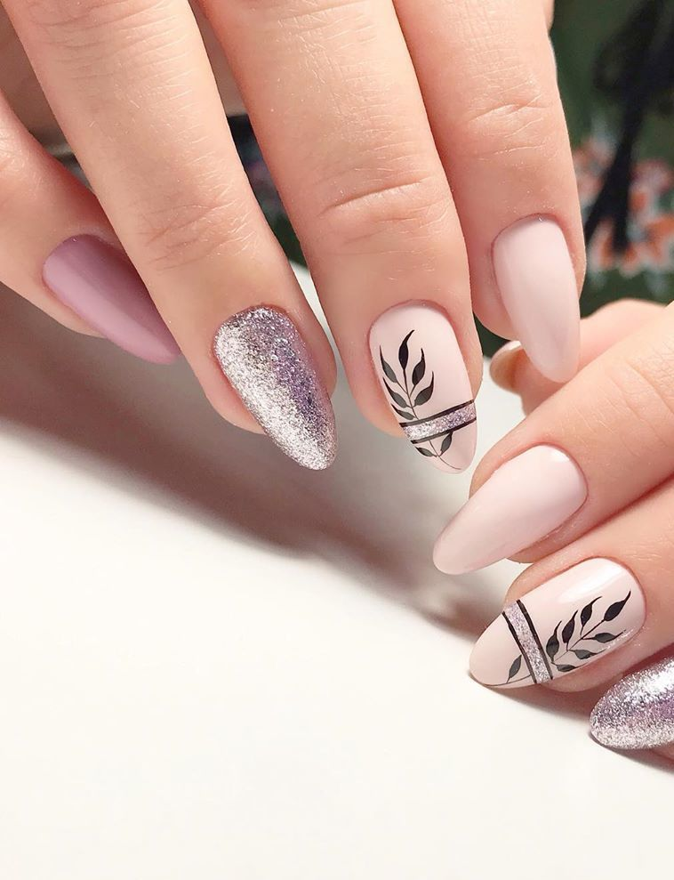 nail paint design lcn nails