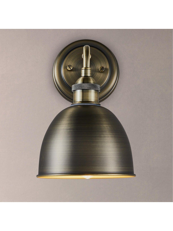 John Lewis Partners Baldwin Bathroom Wall Light Pewter Copper Wall Lights Bathroom Wall Lights Adjustable Wall Light
