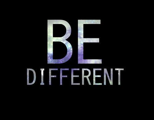 differernt