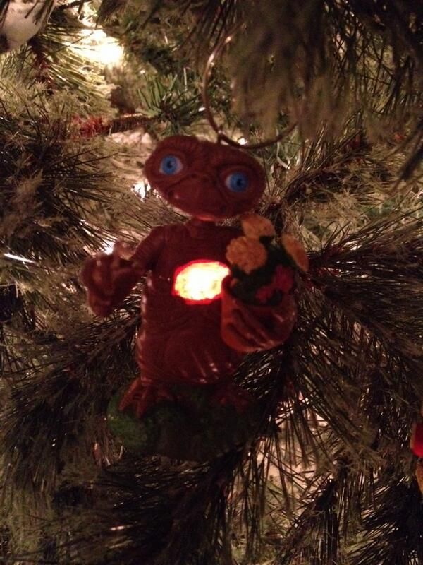 E.T. Christmas decoration by @Meghan Krane Linsdell