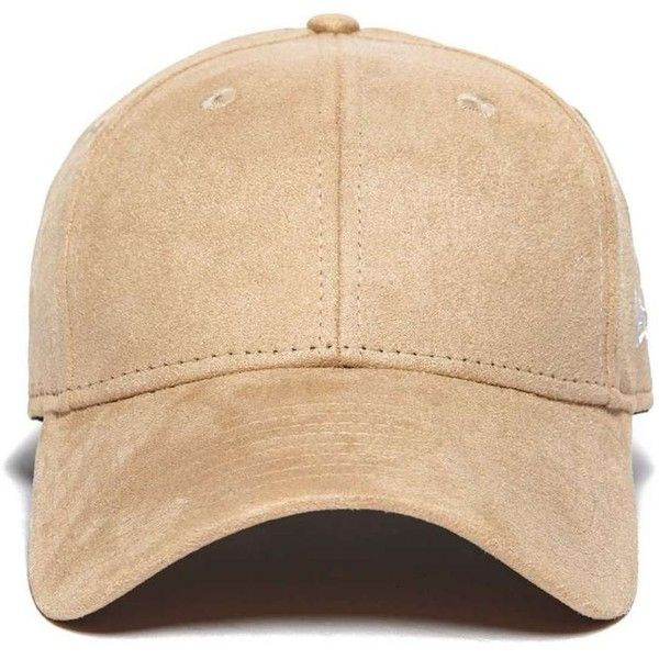 9fd91a2d201 New Era 9FORTY Suede Cap ( 23) ❤ liked on Polyvore featuring men s fashion