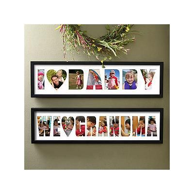 Oh Wow This Personalized Name Photo Collage Frame Loving Them Is So Cool A Great Gift Idea For Anyone