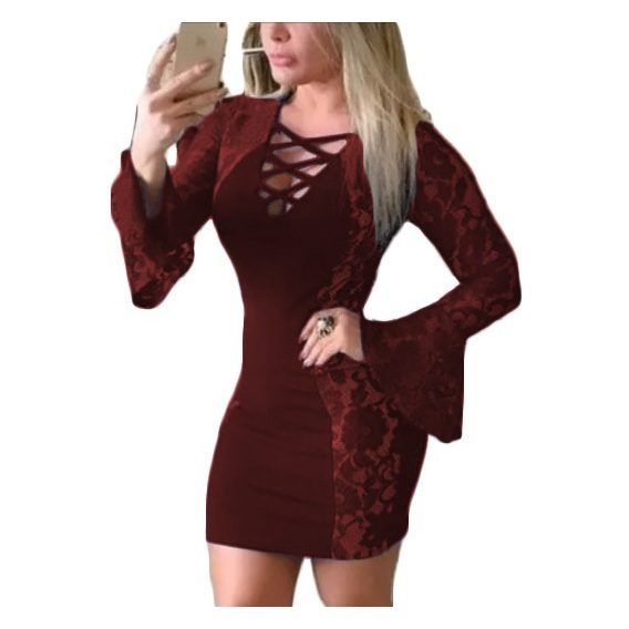 Vestidos Curtos Femininos no Mercado Livre Brasil  d4496022f3d3