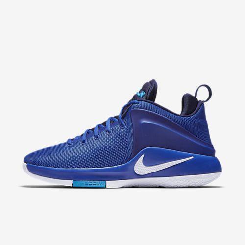 Nike Zoom Witness Lebron Basketball Shoes Mens 13 Game Royal White 852439  401 #Nike #