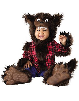 infants and toddlers 90635 wee werewolf baby wolf dog bear infant animal halloween costume