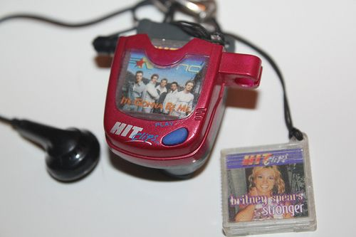 You know you're a 90's kid when you know what HitClips were! I thought I was THE sh*t when I used mine even though the earphone cord was about 10 inches long and songs only lasted 30 seconds :p