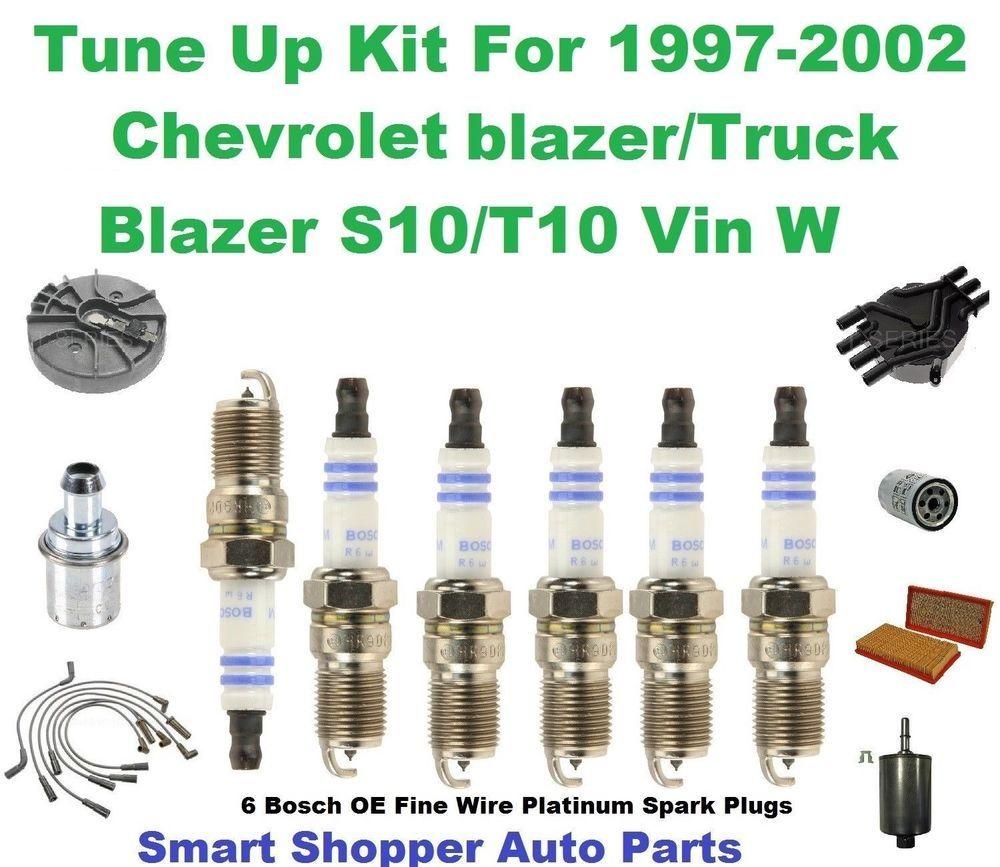 Tune Up Kit For 1997-2002 Chevrolet Blazer/Blazer S10/T10 ...