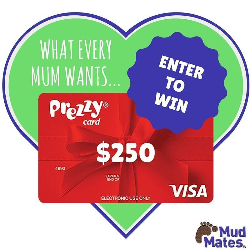WIN A $250 Prezzy Card!  Why not treat yourself this Mother's Day?! Click the link in our bio to enter.  Thanks to our amazing sponsors:  @finndieloo @sleepytot_nz @moxmoccasins @cruisy_baby @wickedwellbeing @expressbabynz @suz_at_kjdesigns @pressieboxnz and Squoodles.
