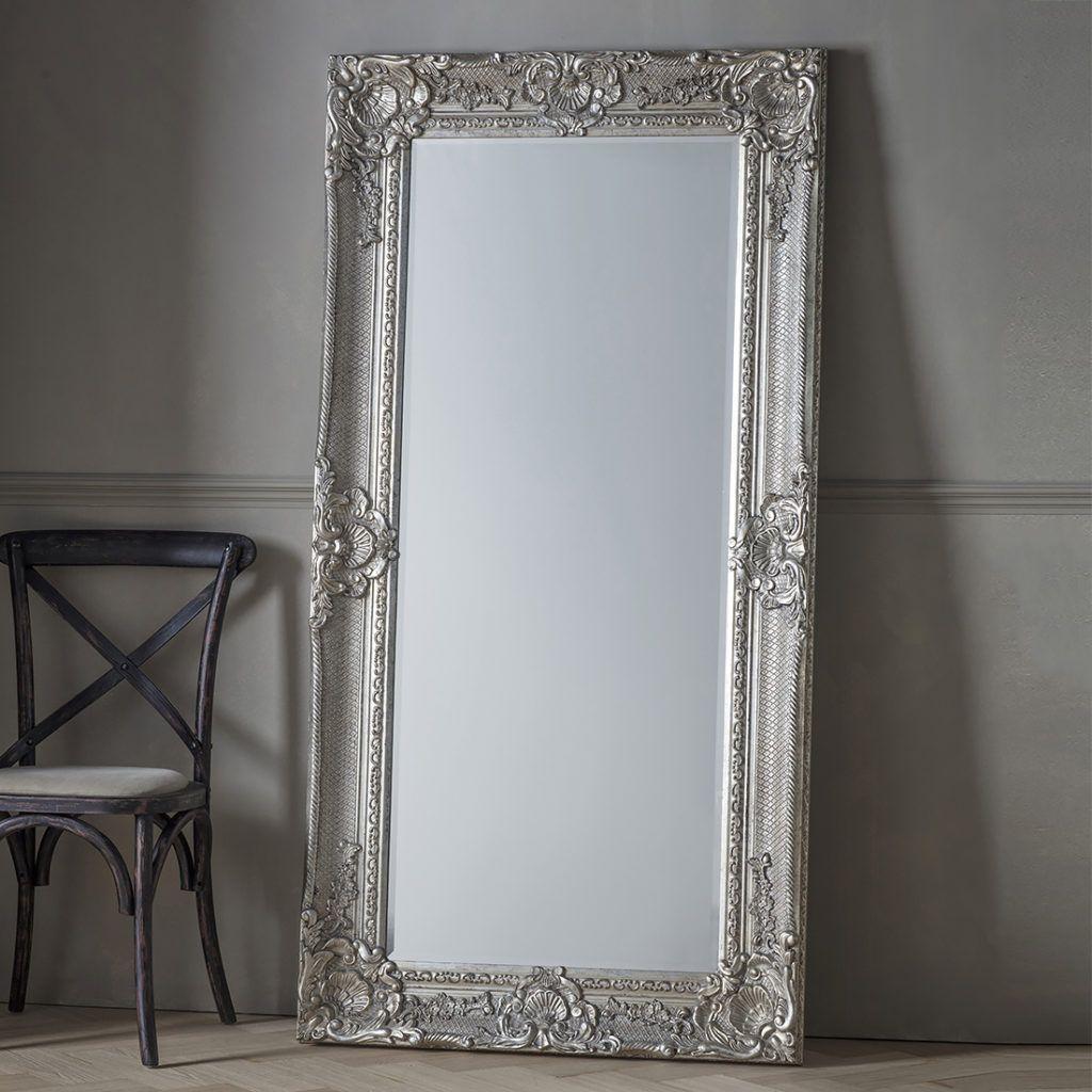 Eleanor Silver Full Length Mirror