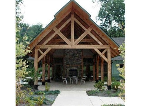 view all of our beautifully made timber frame pavilion