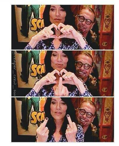 Sons Of Anarchy Katie Segal And Kurt Sutter Sons Of Anarchy Gemma Teller Morrow Katey Sagal