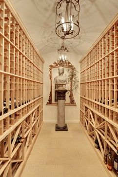 Keith Waters and Associates mediterranean wine cellar