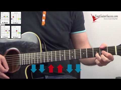 First Cut is the Deepest (SHERYL CROW) Lyric Chords Guitar Lesson ...