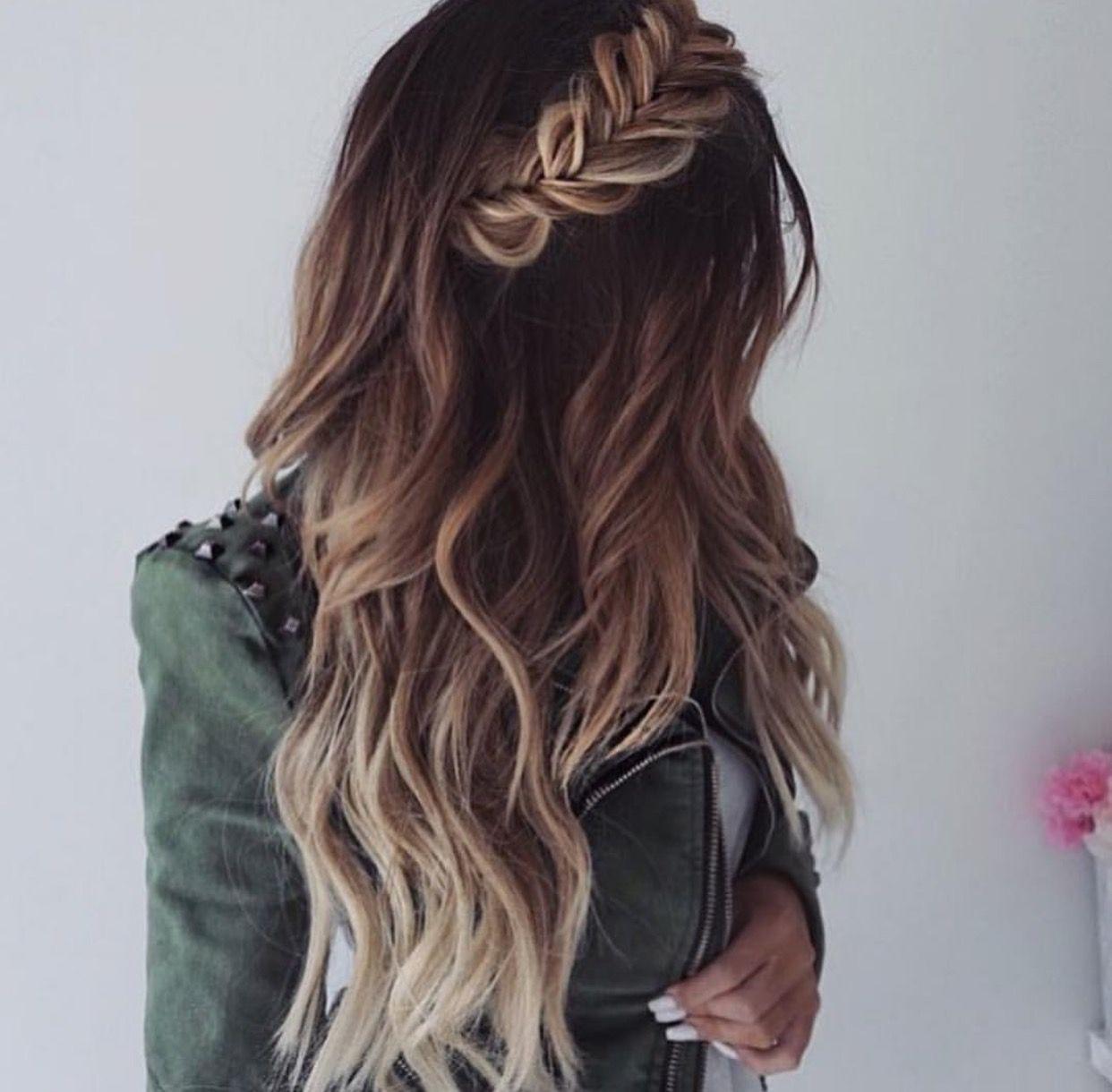 Pinterest Sorose95 Hair Waves Braids For Long Hair Hair
