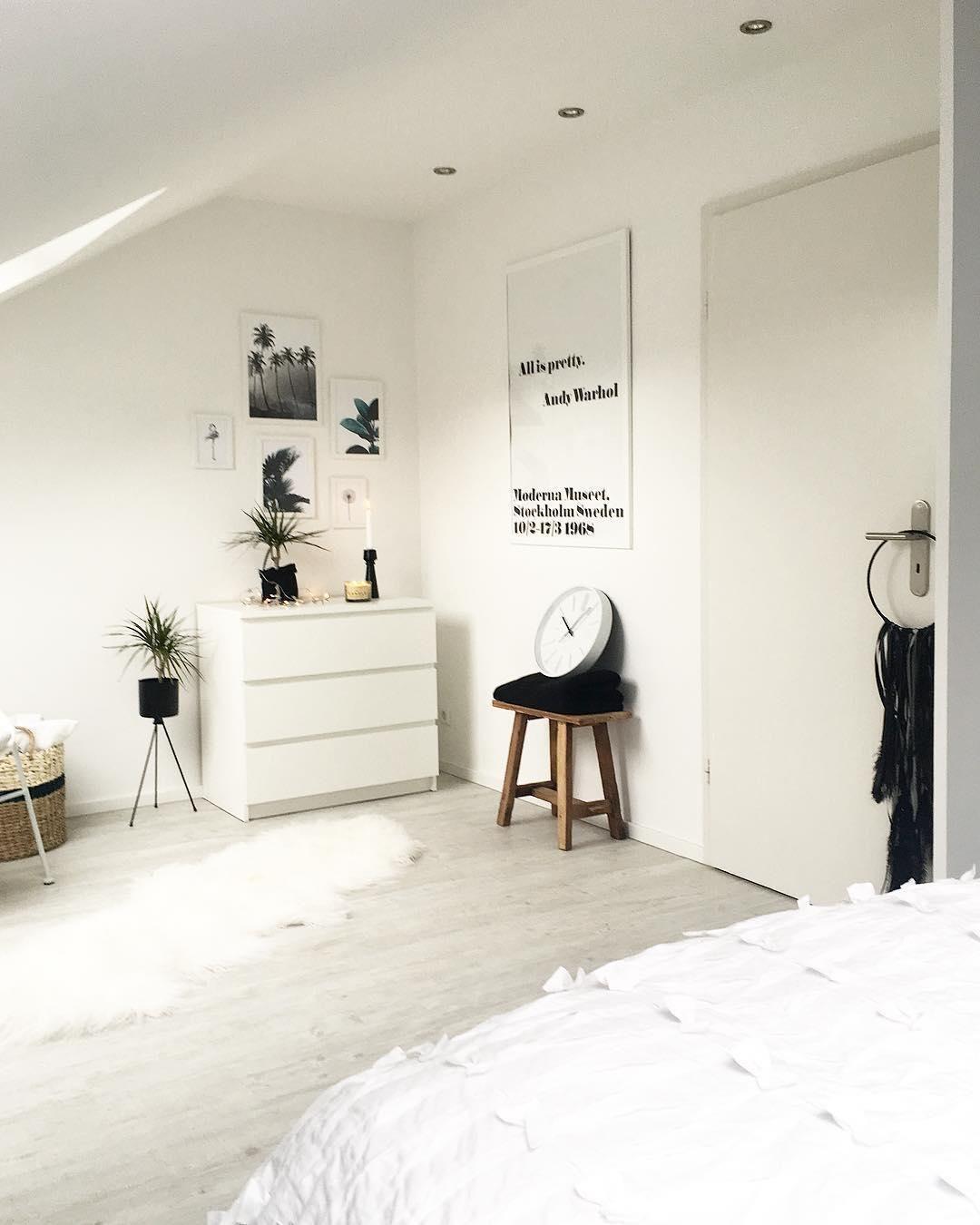 White Dreams! In Diesem Schlafzimmer Sind Ruhige Träume