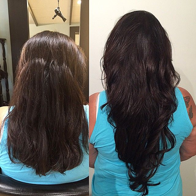 Hair Extension Transformation By Alma A Level 4 Stylist Certified