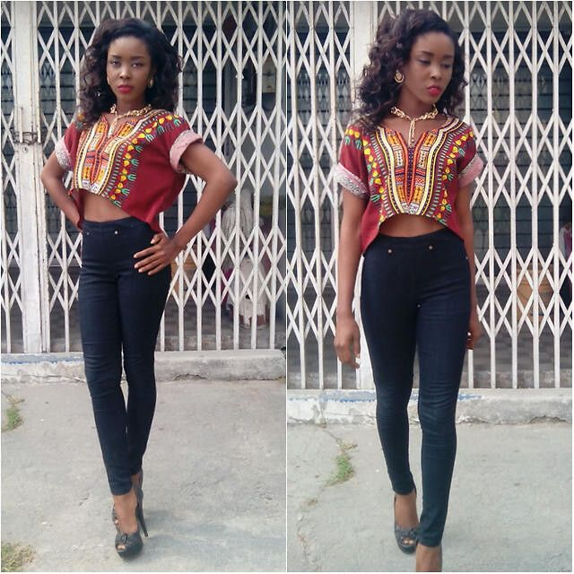 ankara crop top - Google Search