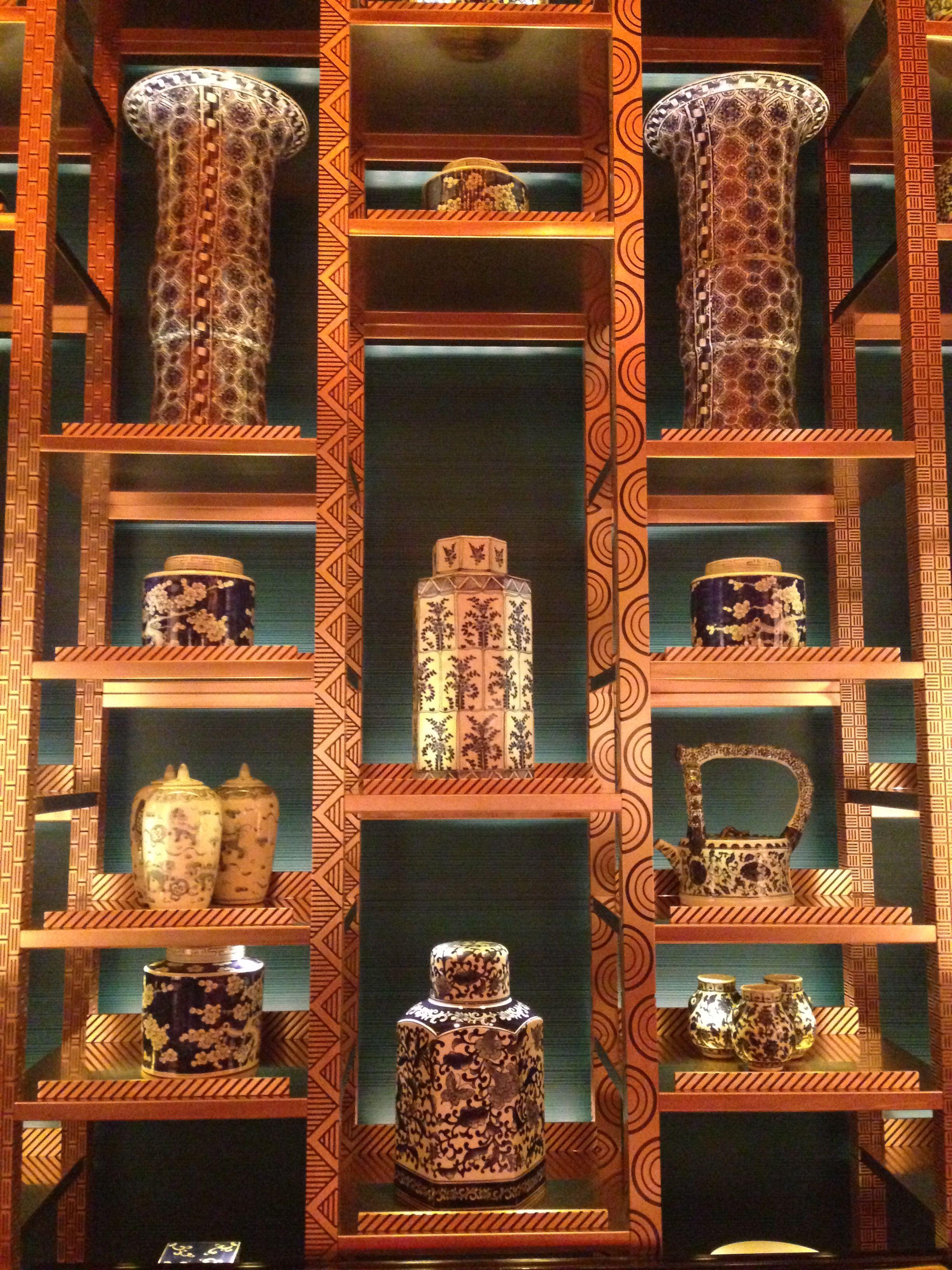 Golden flower restaurant wynn macau macau hotel for Wynn hotel decor