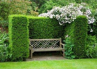 Beautiful Early American Gardens: Garden History   Alcoves