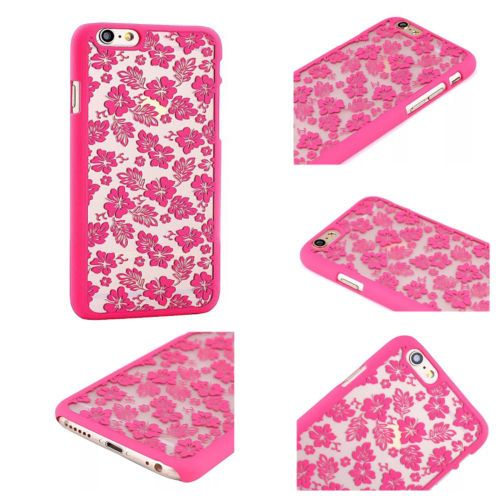 Vintage-Rubberized-Damask-Pattern-Matte-Hard-Case-Cover-For-iPhone-6-6-Plus-5-5S
